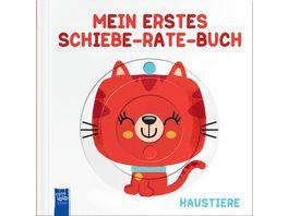 Mein erstes Schiebe Rate Buch Haustiere
