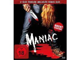 Maniac Uncut Version Bonus BR