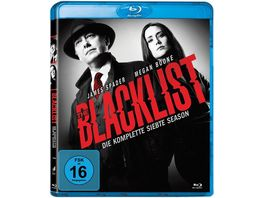 Blacklist Die komplette siebte Season 5 BRs