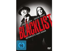 Blacklist Die komplette siebte Season 5 DVDs