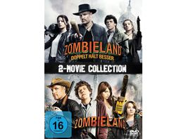 Zombieland 1 2 2 DVDs