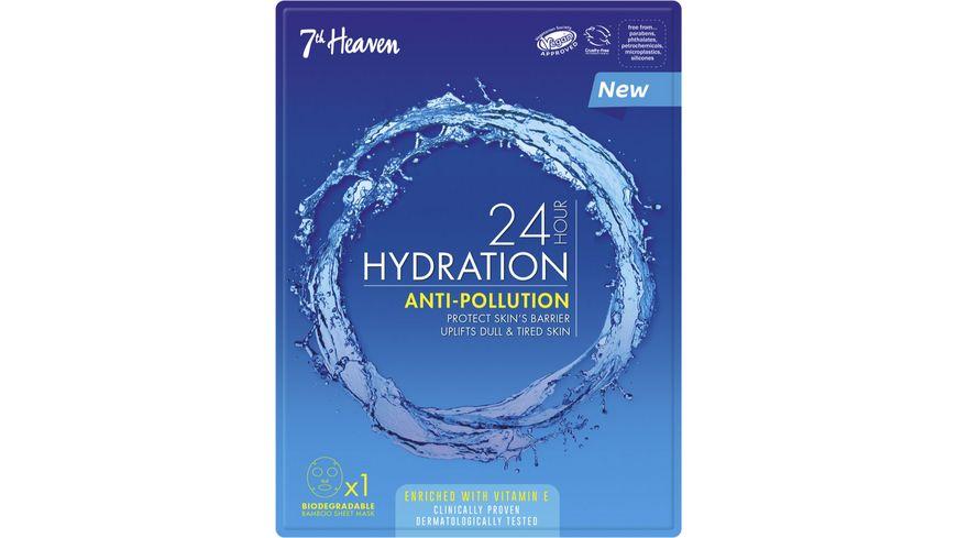 7th Heaven 24 Hour Hydration Anti-Polution-Mask