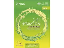 7th Heaven 24 Hour Hydration CBD infused Mask