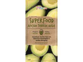 7th Heaven Superfood Avocado Tonerde Maske