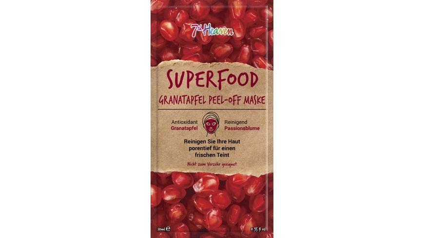 7th Heaven Superfood Granatapfel Peel-Off Maske
