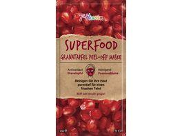 7th Heaven Superfood Granatapfel Peel Off Maske
