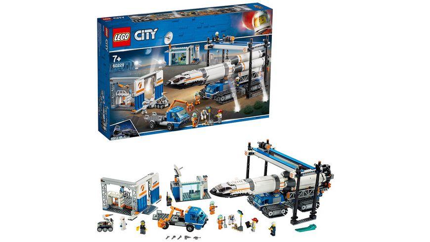 LEGO City 60229 Raketenmontage Transport