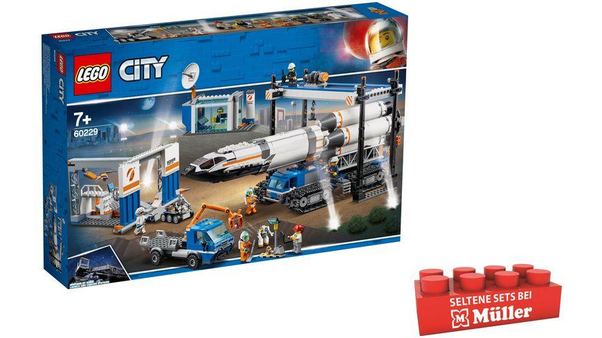 LEGO City - 60229 Raketenmontage & Transport