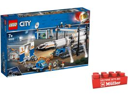 LEGO City 60229 Raketenmontage Transport
