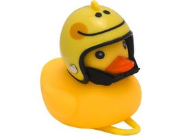 Klingeling Deko Ente Ride Smile Gelb