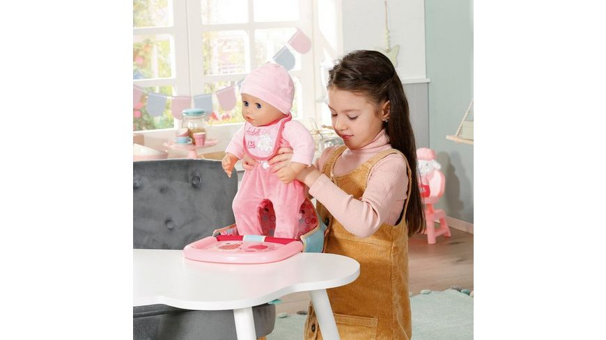 Zapf Creation - Baby Annabell Lunch Time Feeding Chair ...