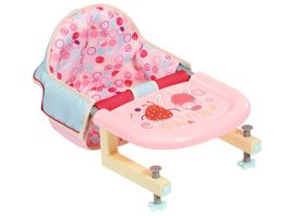 Zapf Creation Baby Annabell Lunch Time Feeding Chair