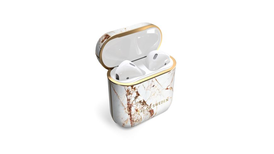 IDEAL OF SWEDEN AirPods Case Print 1. & 2. Generation , Carrara Gold