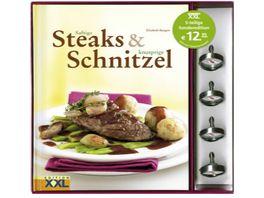 Steaks Schnitzel Set mit Bratthermometer