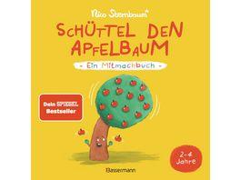 Schuettel den Apfelbaum Ein Mitmachbuch Fuer Kinder von 2 bis 4 Jahren