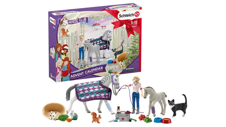 Schleich 98269 Horse Club Adventskalender