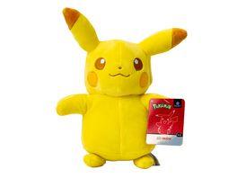 Pokemon Pikachu Monochrom Pluesch 20 cm