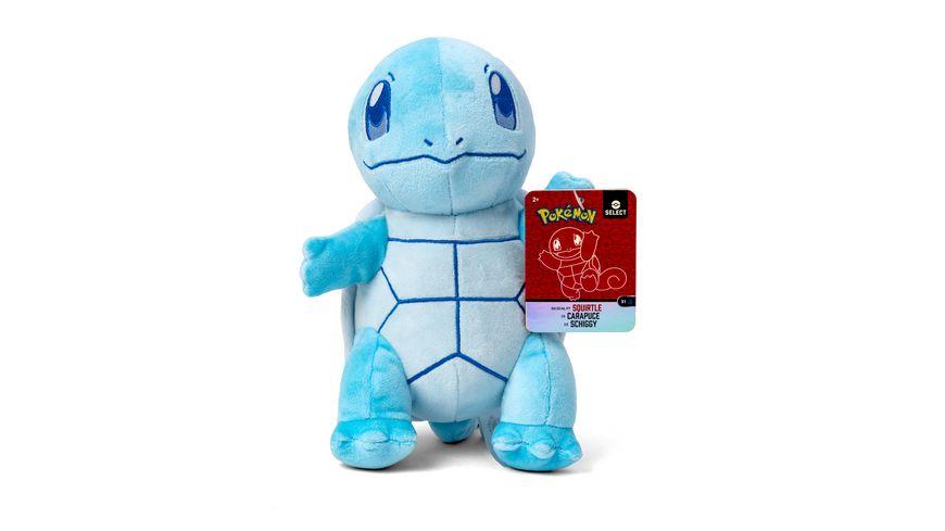 Pokémon - Schiggy - Monochrom Plüsch 20 cm