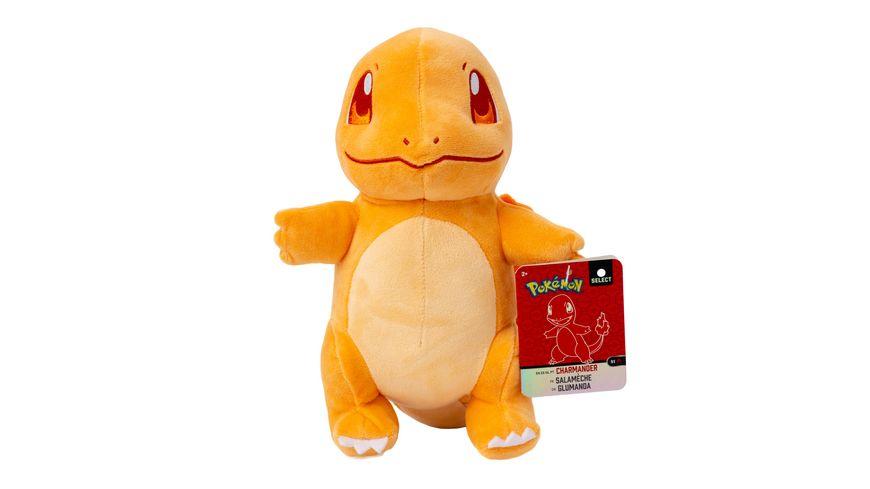 Pokémon - Glumander - Monochrom Plüsch 20 cm