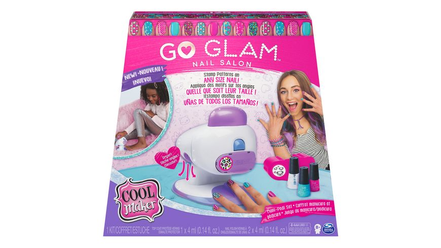 Spin Master - Go Glam Nails - 2 in 1 Salon