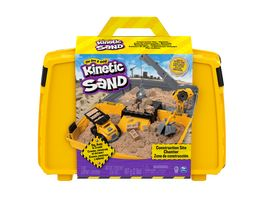 Spin Master Kinetic Sand Construction Folding Sandbox 907 g