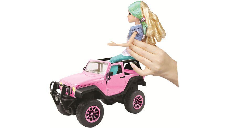 Dickie RC Pink Driverz Jeep Wrangler