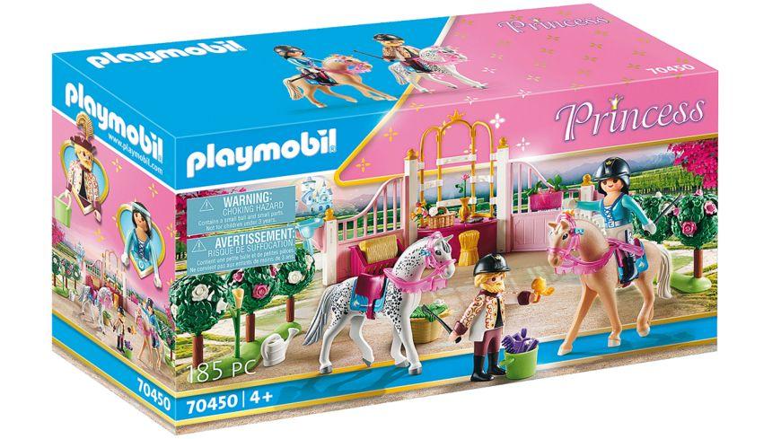 PLAYMOBIL 70450 - Princess - Reitunterricht im Pferdestall