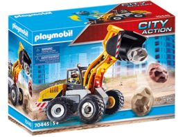 PLAYMOBIL 70445 City Action Radlader