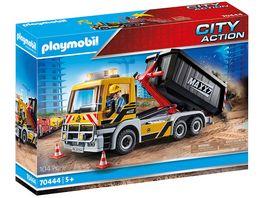 PLAYMOBIL 70444 City Action LKW mit Wechselaufbau