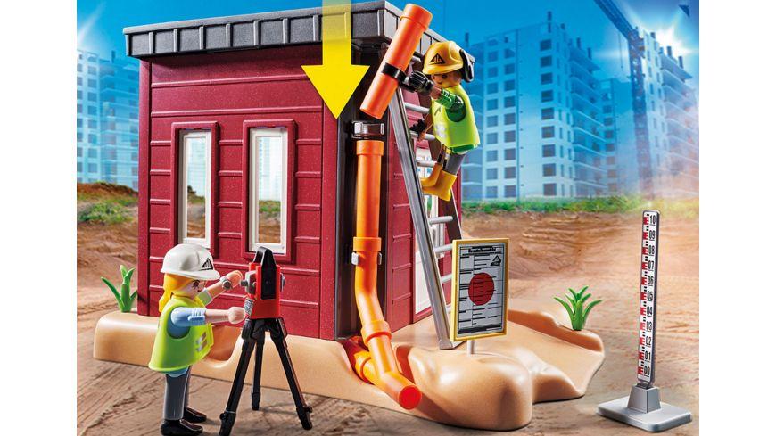 PLAYMOBIL 70443 City Action Minibagger mit Bauteil