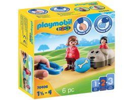 PLAYMOBIL 70406 1 2 3 Mein Schiebehund