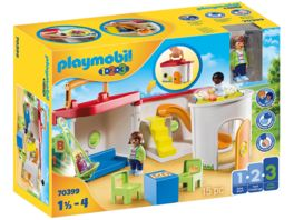 PLAYMOBIL 70399 1 2 3 Mein Mitnehm Kindergarten