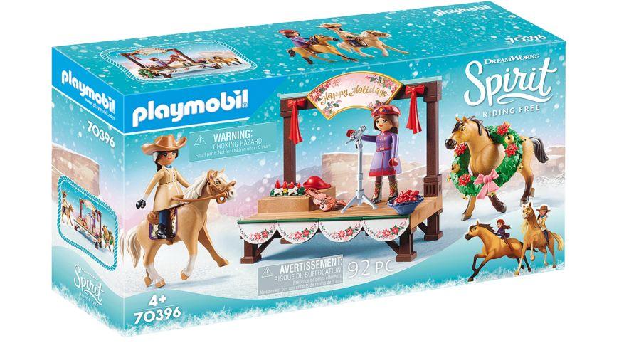 PLAYMOBIL 70396 - Spirit - Riding Free - Weihnachtskonzert