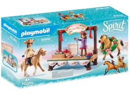 PLAYMOBIL 70396 Spirit Riding Free Weihnachtskonzert