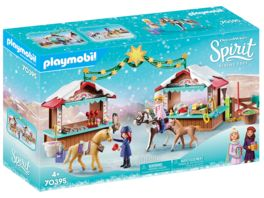 PLAYMOBIL 70395 Spirit Riding Free Weihnachten in Miradero