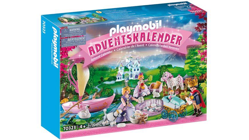 PLAYMOBIL 70323 Princess Adventskalender Koenigliches Picknick im Park