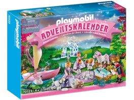 PLAYMOBIL 70323 Princess Adventskalender Koenigliches Picknick im Park