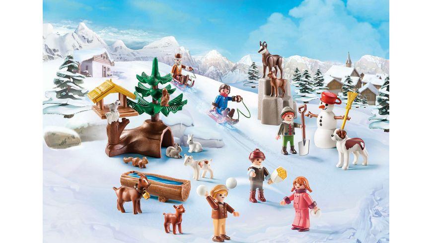 PLAYMOBIL 70260 Adventskalender Heidis Winterwelt