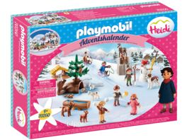 PLAYMOBIL 70260 Adventskalender Heidis Winterwelt