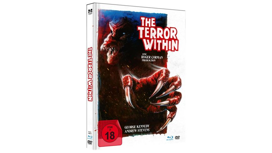 The Terror Within Uncut Limited Mediabook in HD neu abgetastet DVD