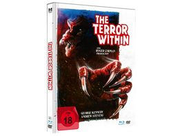 The Terror Within Uncut Limited Mediabook in HD neu abgetastet DVD