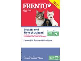 Frento Forte Schutzhalsband fuer Katzen und kleine Hunde