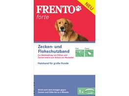 Frento Forte Schutzhalsband fuer Hunde