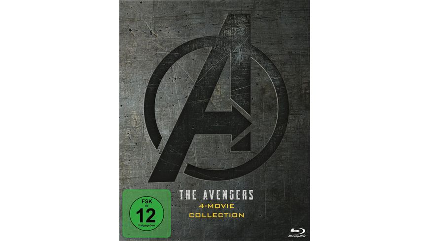 The Avengers 4-Movie Collection  [5 BRs]