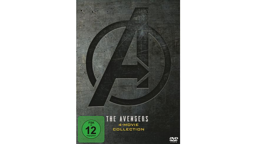 The Avengers 4 Movie Collection 4 DVDs