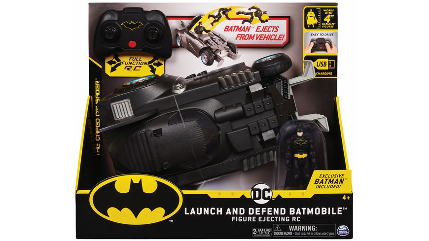 Spin Master - Launch & Defend Batmobile