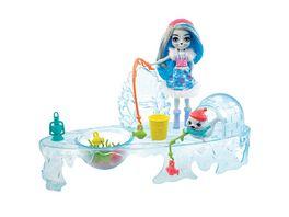 Mattel Enchantimals Angelfreunde mit Sashay Seal und Blubber