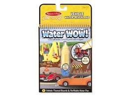 Melissa Doug Water Wow Fahrzeuge On the Go Travel Activity
