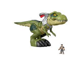 Imaginext Jurassic World Hungriger T Rex Dinosaurier Spielzeug
