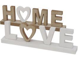 Boltze Schriftzug Love Home